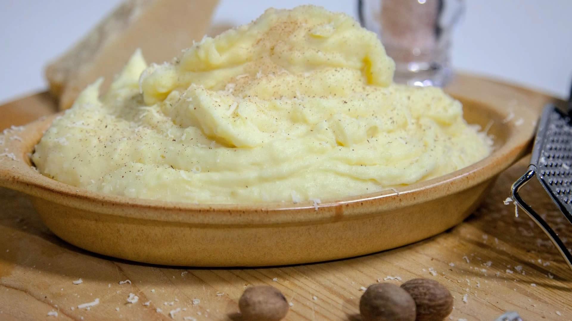 pure di patate al microonde