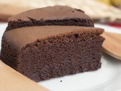 Torta al cioccolato fondente al microonde: un dolce super goloso