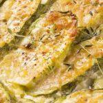 zucchine gratinate al microonde